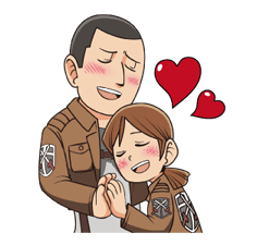 Attack on Titan Stickers 5