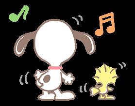 Υπέροχο Αυτοκόλλητα Snoopy