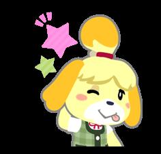 Animal Crossing Autocollants - nouveaux emojis, gif ...