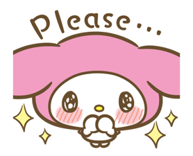 My Melody: Sweet as Can Be! Stickers 10