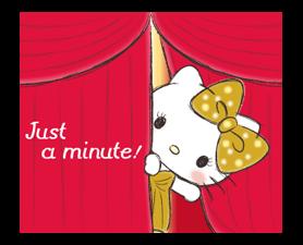 Hello Kitty Polite Stickers 6