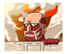 Attack on Titan Stickers 6