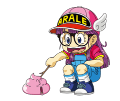 Dr.Slump -Arale Stickers 7