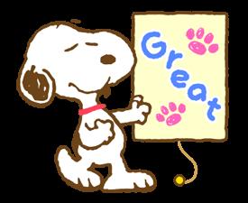 Super jarní Snoopy Nálepky 7