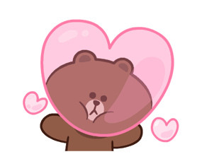 LINE Characters: Pretty Phrases Stickers 7