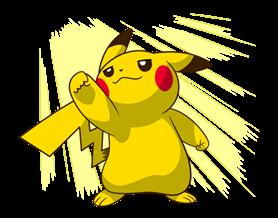Pikachu สติ๊กเกอร์♪ 18