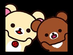 Rilakkuma: Chairoikoguma Stickers 7