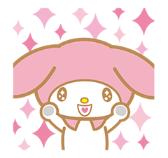 My Melody Stickers 6