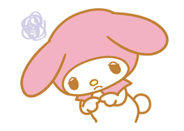 My Melody 2 Stickers 7