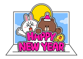 Brown Cony Greeting 24