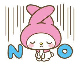My Melody: Sweet as Can Be! Stickers 12