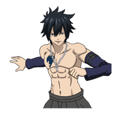FAIRY TAIL Action Stickers! 8