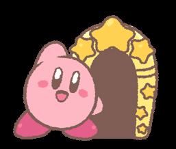 Kirby's Puffball Sticker Set 8