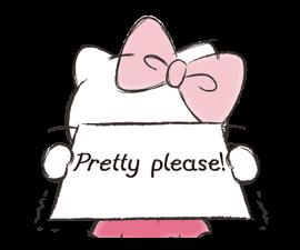 Hello Kitty Polite Stickers 8