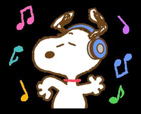 Super jarní Snoopy Nálepky 8