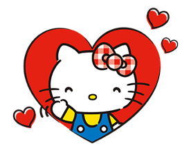 Hello Kitty Lovely Stickers 8