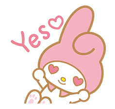 My Melody Stickers 7