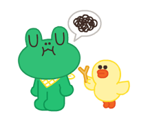 LINE Characters: Pastel Cuties Stickers 8