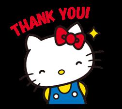 Hello Kitty 2 Stickers 8