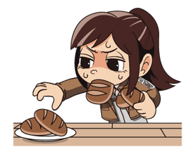 Attack on Titan Stickers 8