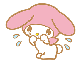 My Melody Stickers 15