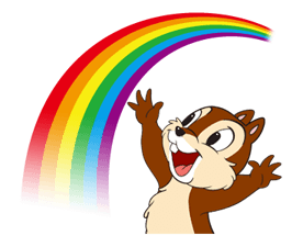 Chip 'n' Dale Summer Delight Stickers 9