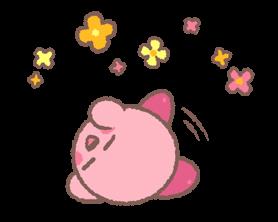 Kirby's Puffball Sticker Set 9