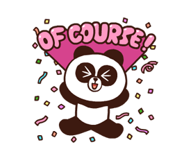 LINE Characters: Pretty Phrases Stickers 9