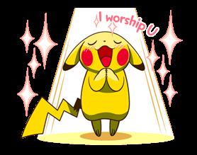 Pikachu สติ๊กเกอร์♪ 20