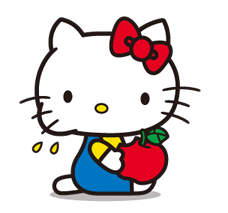 Hello Kitty 2 Stickers 9