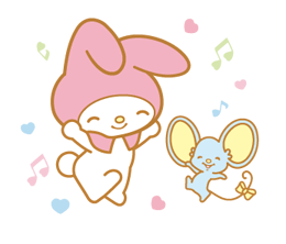 My Melody 2 Stickers 9